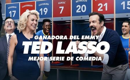 Ted Lasso de Apple TV+ se lleva cuatro Emmy en un año en el que el streaming se lleva los premios principales