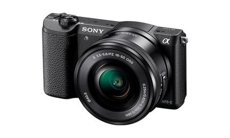 Sony Alpha 5100L con objetivo 16-50mm, con financiación sin intereses y por sólo 399 euros en Mediamarkt