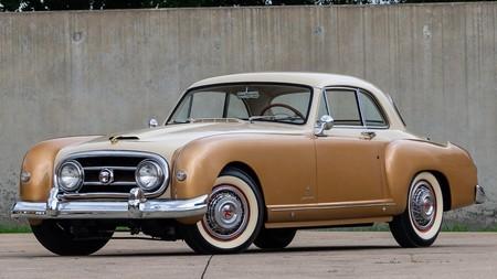 """Este Nash-Healey Le Mans Coupé de 1953 sale a subasta, y tiene de especial su """"triple nacionalidad"""""""