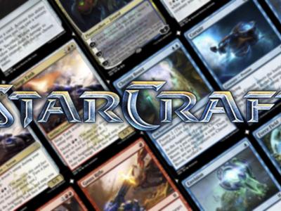 Un fan diseña un juego de cartas personalizadas de StarCraft que usa el sistema de Magic