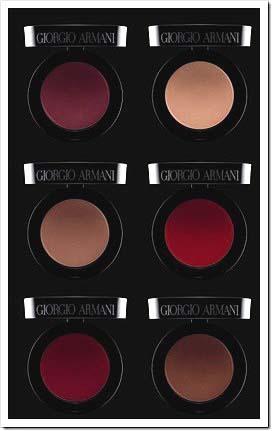 Nuevos colores de labios para el otoño de Giorgio Armani