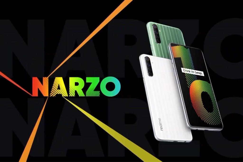 Realme Narzo 20: sus primeras filtraciones apuntan a alguna enorme batería y mejorías en procesador
