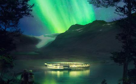 Un hotel con 360º de vistas al Ártico permitirá ver las mejores imágenes de Auroras Boreales