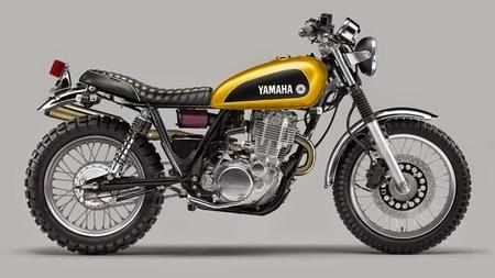Yamaha SR400 Scrambler by Luca Bar Design
