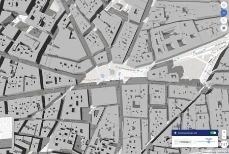 Este prodigioso mapa te permite saber cuánto sol le dará a tu casa en cada momento: si vas a comprar o alquilar casa, esto es una joya