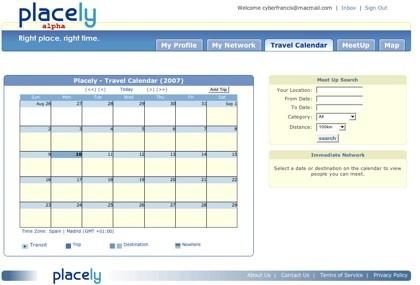 Calendario de Placely