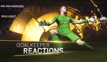 Siente el juego con el espectacular trailer con los porteros en FIFA 15