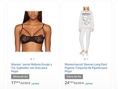 Amazon nos ofrece por el Black Friday un 30% de descuento en Women Secret