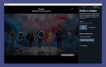 Amazon Prime Video lanza Vídeo Grupal para ver contenidos en grupos y chatear con hasta 100 personas: así lo puedes usar