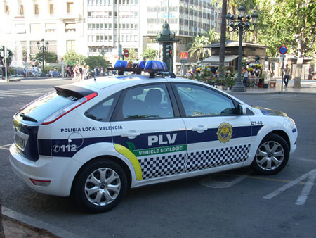 Ford Focus policial