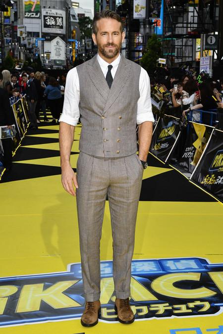 Ryan Reynolds Revive El Tejido De Principe De Gales En Su Mas Reciente Look De Alfombra Roja 2