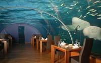 El primer restaurante submarino