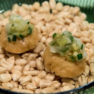 Gorditas infladas estilo Veracruz. Receta fácil de comida tradicional mexicana
