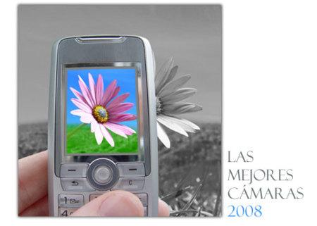 Los teléfonos con mejores cámaras en 2008