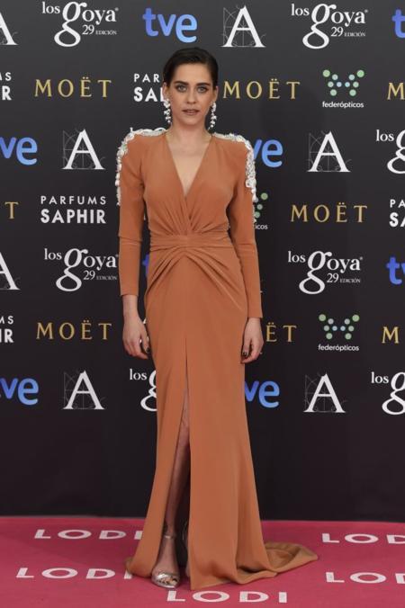 María León en los Premios Goya 2015
