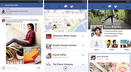 Facebook se actualiza en Windows Phone 8 con mejoras en fotos y mensajes