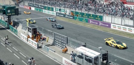 McLaren festeja 20 años de su victoria en Le Mans con una épica vuelta al circuito