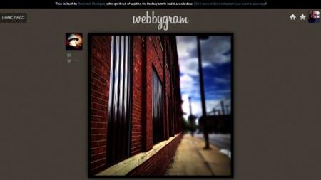 Webbygram, un servicio muy cercano a lo que debería ser la versión web oficial de Instagram