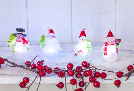 Figuras Navidad luminosas