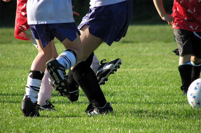 Deporte colectivo futbol