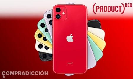 El iPhone 11 (PRODUCT)RED de 64 GB es todo un chollazo en el outlet de MediaMarkt: ahórrate 120 euros estrenando smartphone de Apple