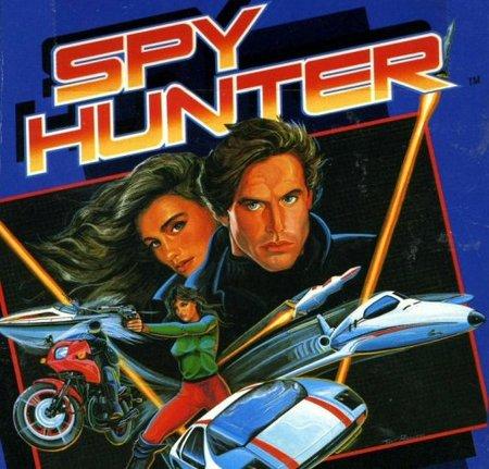 La portada del juego Spy Hunter