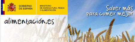 Alimentación.es, la web institucional de los alimentos...