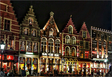 Brujas Ciudades Europeas Con Mas Luces En Navidad