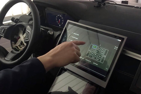 Jaguar Land Rover pantalla táctil contactless Predictive Touch