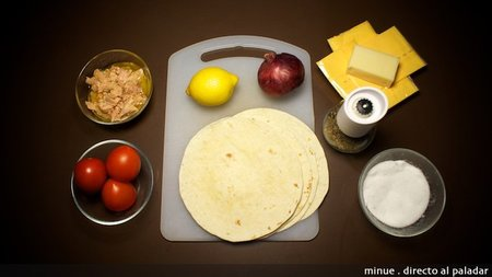Enchiladas de atún - ingredientes