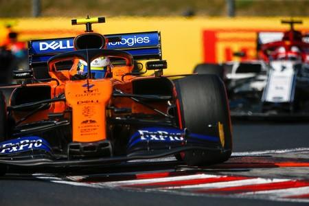 Norris Raikkonen Hungria F1 2019