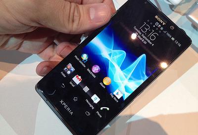 Sony Xperia T, toma en contacto