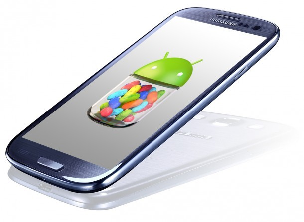 Galaxy SIII Jelly Bean