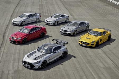 Mercedes-AMG Black Series: la saga de seis bestias negras que suma más de 3.400 CV