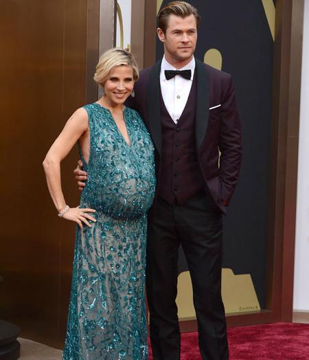 Ya están aquí los bebés de Elsa Pataky y Chris Hemsworth