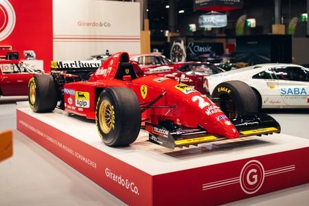 Sale a la venta el Ferrari  412 T2, el primer Fórmula 1 de Maranello que pilotó Michael Schumacher