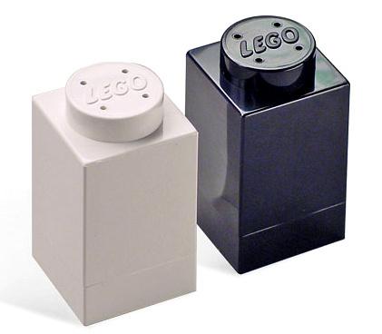 Sal y pimienta en piezas de Lego