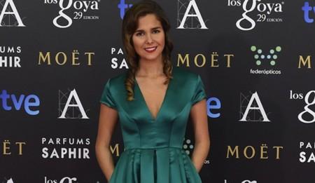 Natalia Sanchez Escote Goya 2015