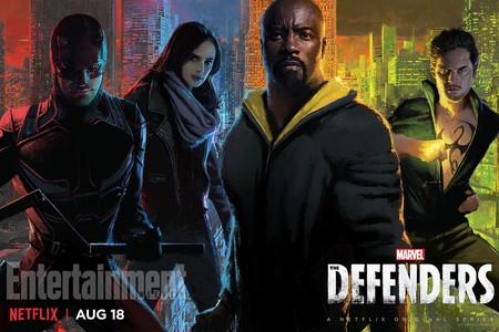 Defenders Serie Poster Netflix