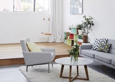 Un almacén convertido en un maravilloso estudio compartido