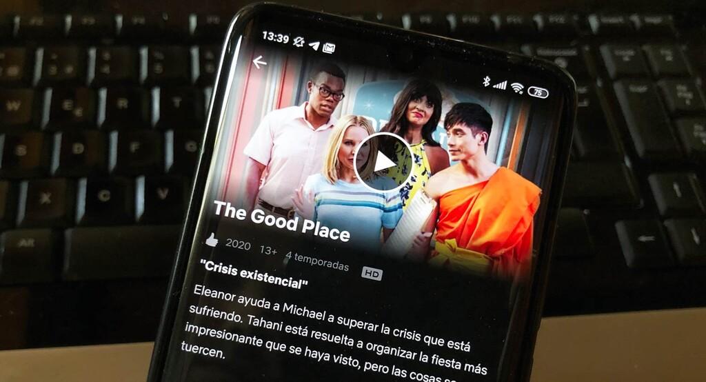 Cómo saber la calidad máxima a la que funciona Netflix en tu móvil