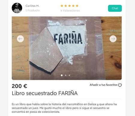Window Y Libro Secuestrado Farina De Segunda Mano En Alicante Alacant Wallapop