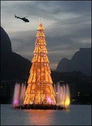 Árbol de Navidad de Río, el más grande del mundo