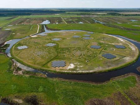 Una estación del radiotelescopio LOFAR