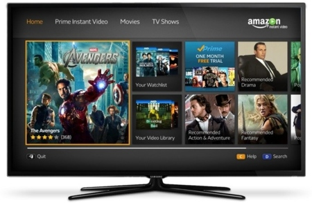 Amazon Instant Video se instala en los televisores Samsung