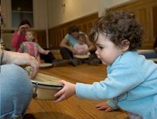 Aprendiendo a crear, curso de música para bebés ya en marcha