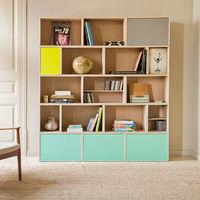 La estantería modular BrickBox se renueva con nuevos acabados y complementos perfectos para tu salón