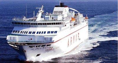 De Huelva a Canarias... en ferry