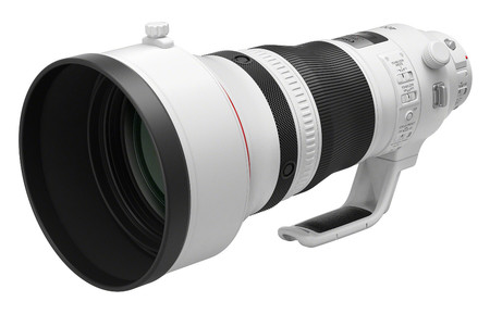 Ef 400 Mm F2 8l Is Iii Usm Front Slant With Short Hood Rti 820