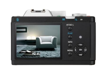 Pentax K01 pantalla